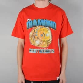 Heavyweight Champs Skate T-Shirt - Red