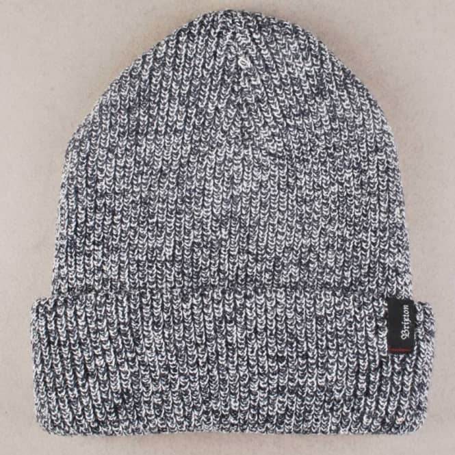 Brixton Heist Fold Up Beanie - Navy Heather
