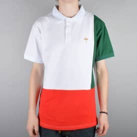 Helas Tie Break Italia Polo - White/Green/Red