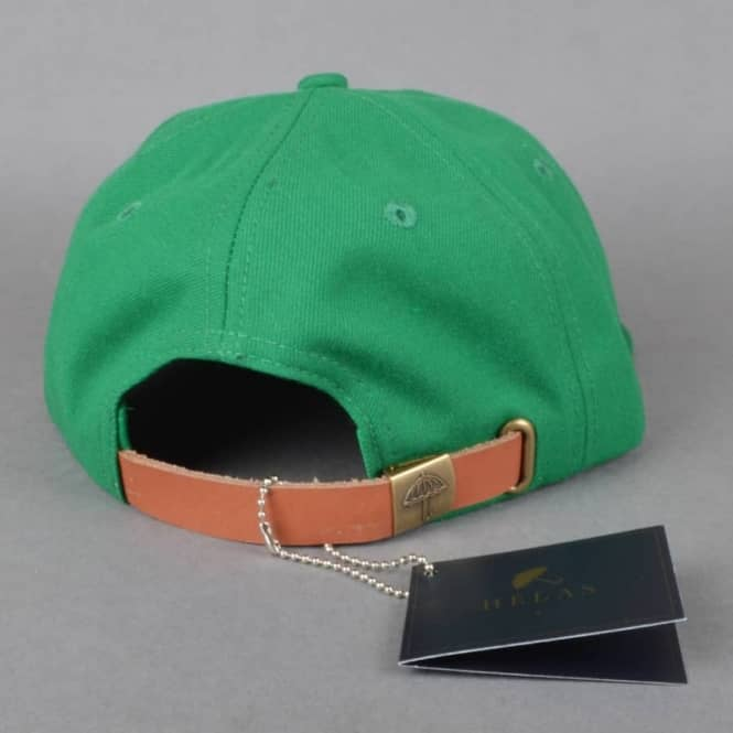 d7adfc81977 Helas Caps Polo Club 6 Panel Strapback Cap - Green - SKATE CLOTHING ...