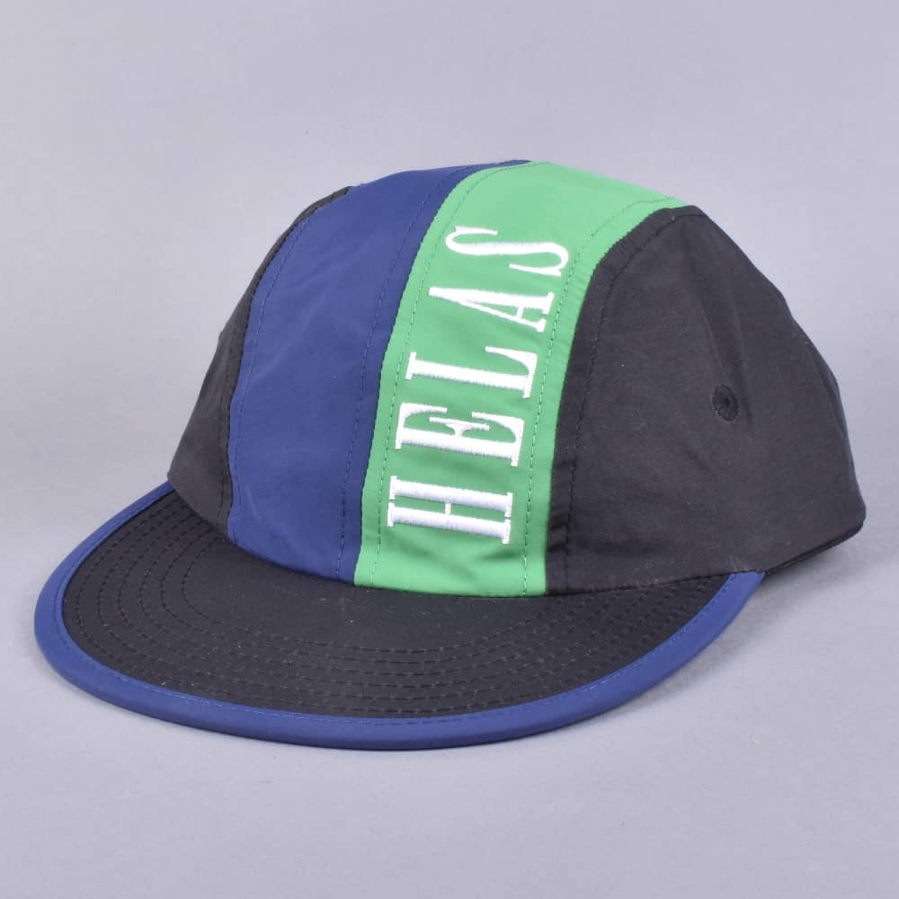 29e41647b0d Helas Caps Suspence Snapback Cap - Black - SKATE CLOTHING from ...