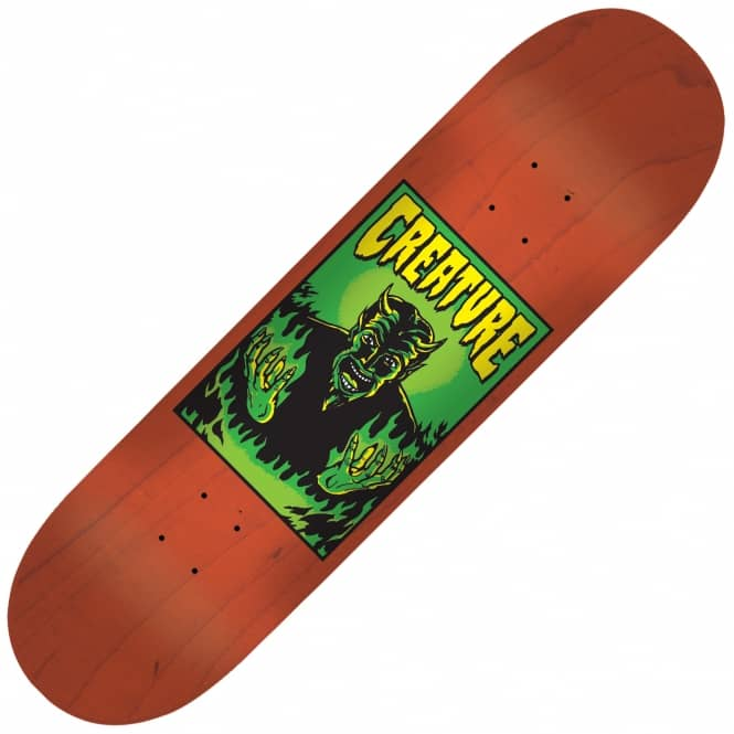 Creature Skateboards Hell Medium Skateboard Deck 8.6