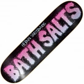 Heroin Skateboards Bath Salts Skateboard Deck 8.38""