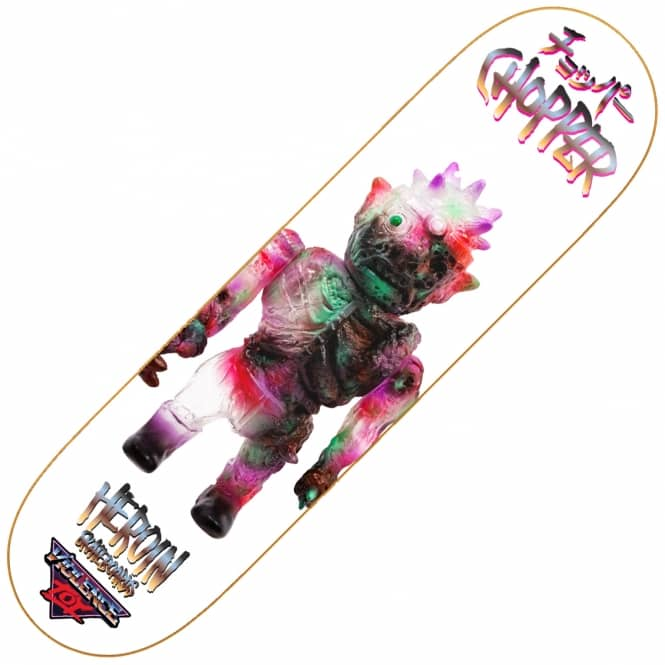 Heroin Skateboards Chopper Violence Toy Skateboard Deck 8.0