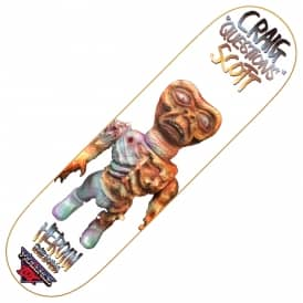 Heroin Skateboards Craig Questions Violence Toy Skateboard Deck 8.4""
