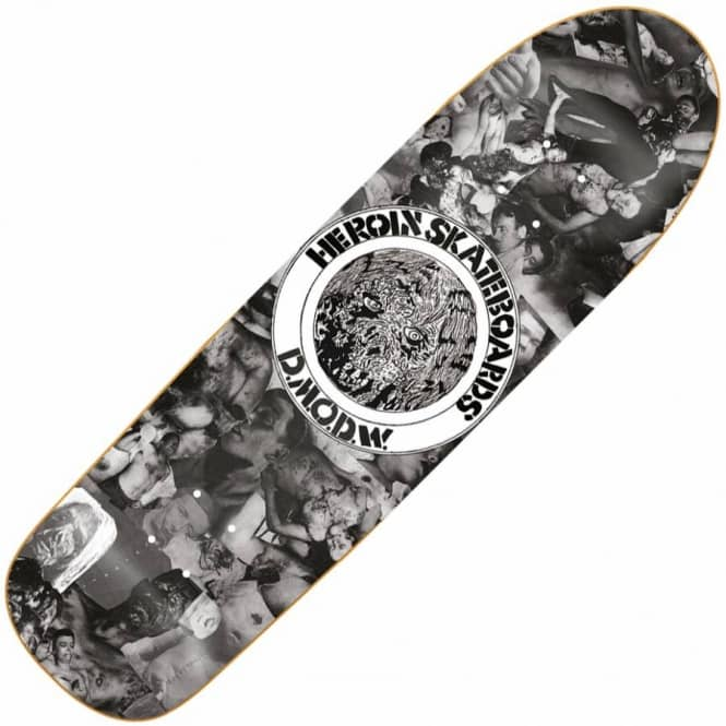 Heroin Skateboards DMODW Collage Skateboard Deck 9.5