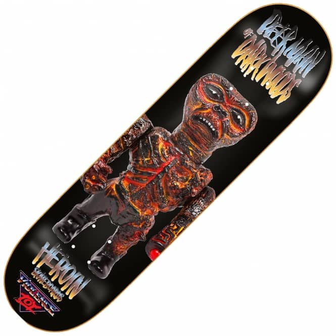 Heroin Skateboards DMODW Violence Toy Skateboard Deck 8.625