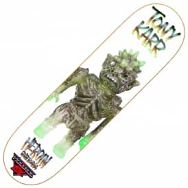 Heroin Skateboards Karr Violence Toy Skateboard Deck 8.25""