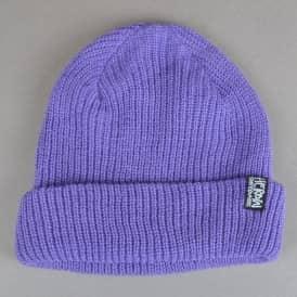 Heroin Skateboards Script Beanie - Purple