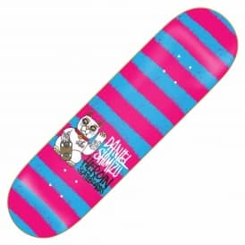 Heroin Skateboards Shimizu Striped Icon Skateboard Deck 8.0''