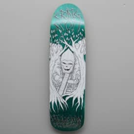 Heroin Skateboards Swampy x Craig Woodsman Custom Shape Skateboard Deck 9.0""