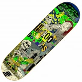 Heroin Skateboards X Hirotton Skateboard Deck 8.25''