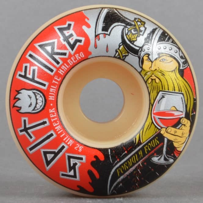 Spitfire Wheels Hjalte Warlord 99D Classic Formula Four Skateboard Wheels 52mm