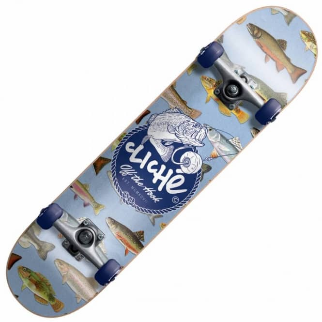 Cliche Skateboards Hook Complete Skateboard 7.9