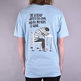 Hopeless Skate T-Shirt - Light Blue