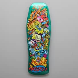 Hosoi Collage Candy Mint Reissue Skateboard Deck 10.0