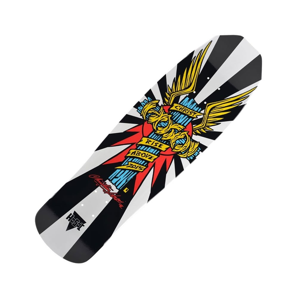 7103e7d37df Hosoi Skateboards Hosoi Skateboards Hosoi Wings White Skateboard Deck 9.0