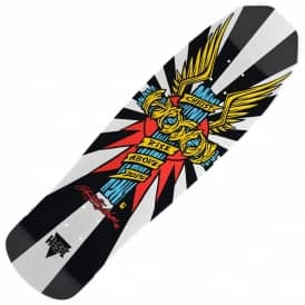 Hosoi Wings White Skateboard Deck 9.0