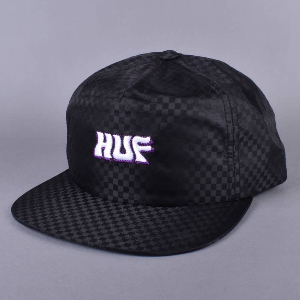 cf680d6ffca HUF Backstage Snapback Cap - Black - SKATE CLOTHING from Native ...