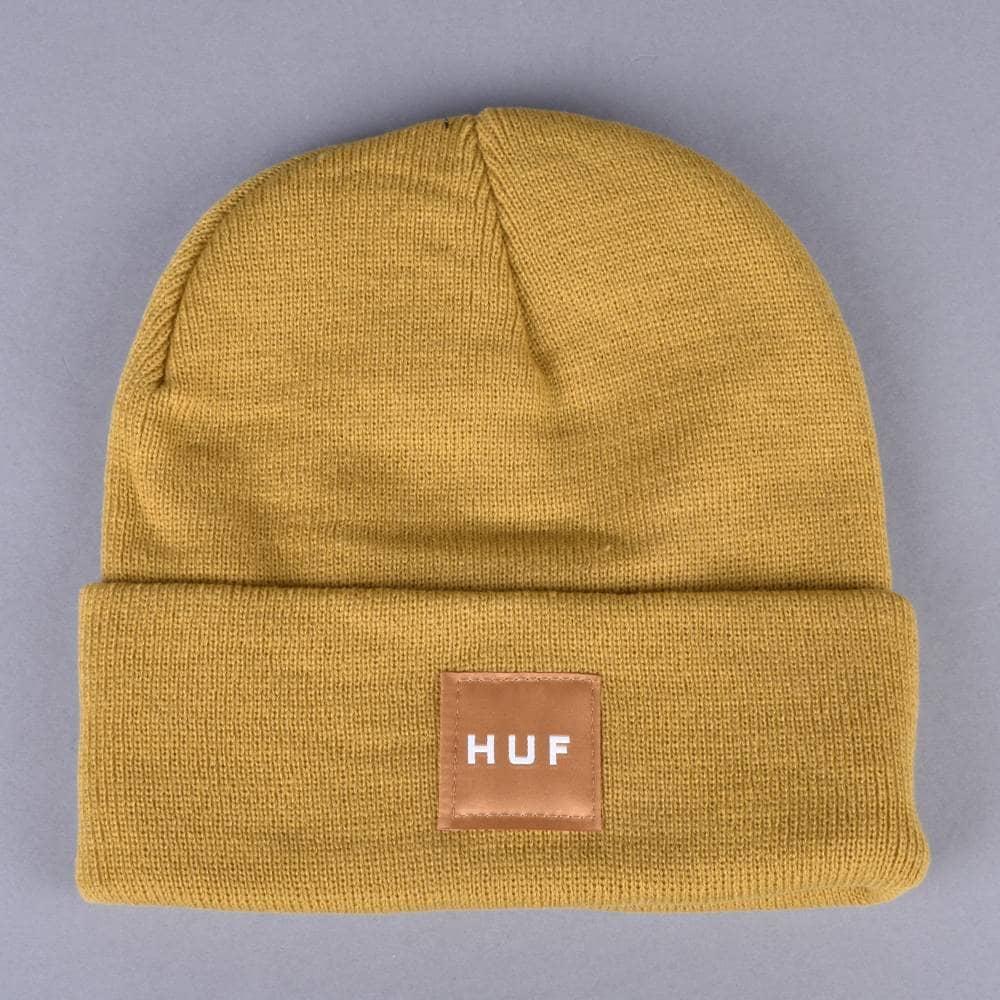 f6fad5af9 Box Logo Beanie - Honey Mustard