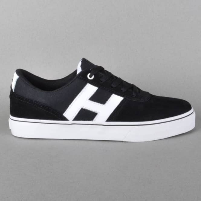 HUF Choice Skate Shoes - Black/White