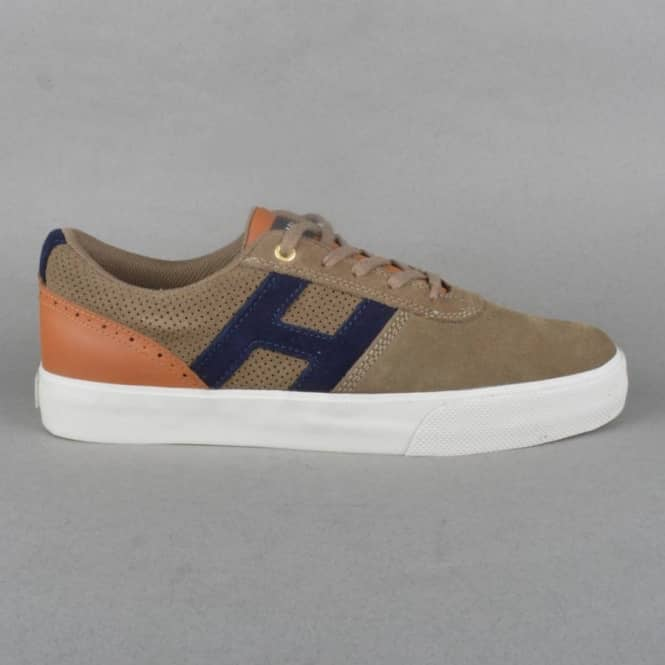 HUF Choice Skate Shoes - Dark Taupe/Cashew
