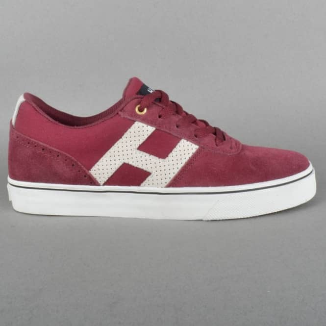 HUF Choice Skate Shoes - Tawny Port/Bone White