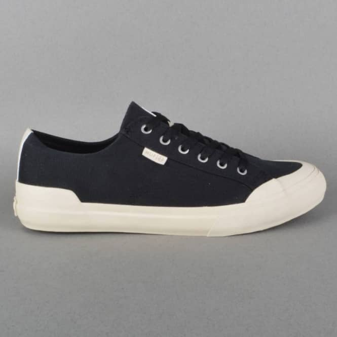 HUF Classic Lo Canvas Skate Shoes - Black