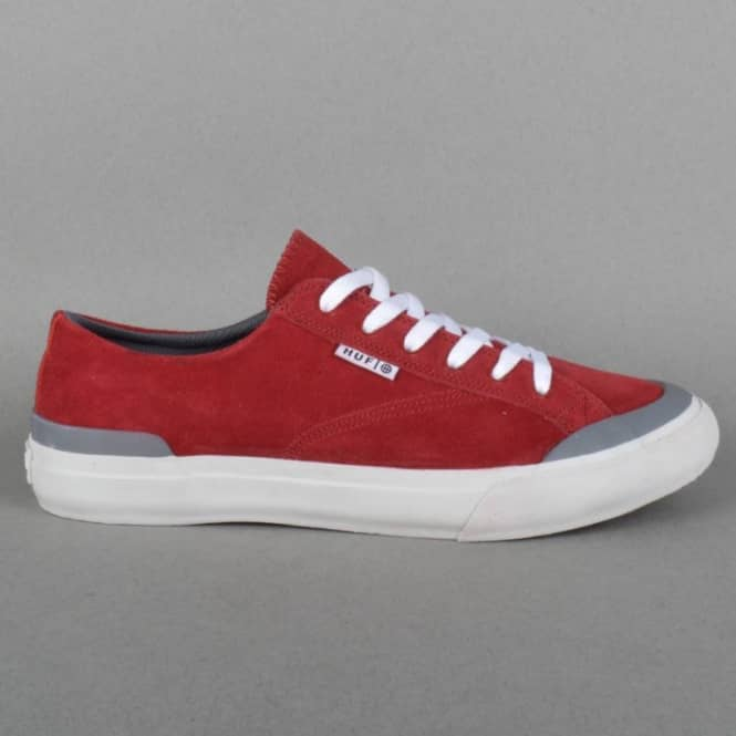 HUF Classic Lo Skate Shoes - Brick/Steel