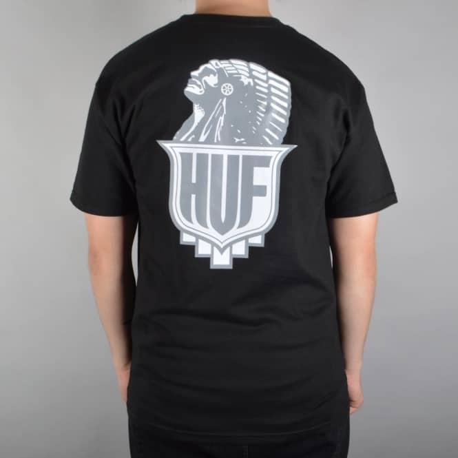 HUF Crazy Horse T-Shirt - Black