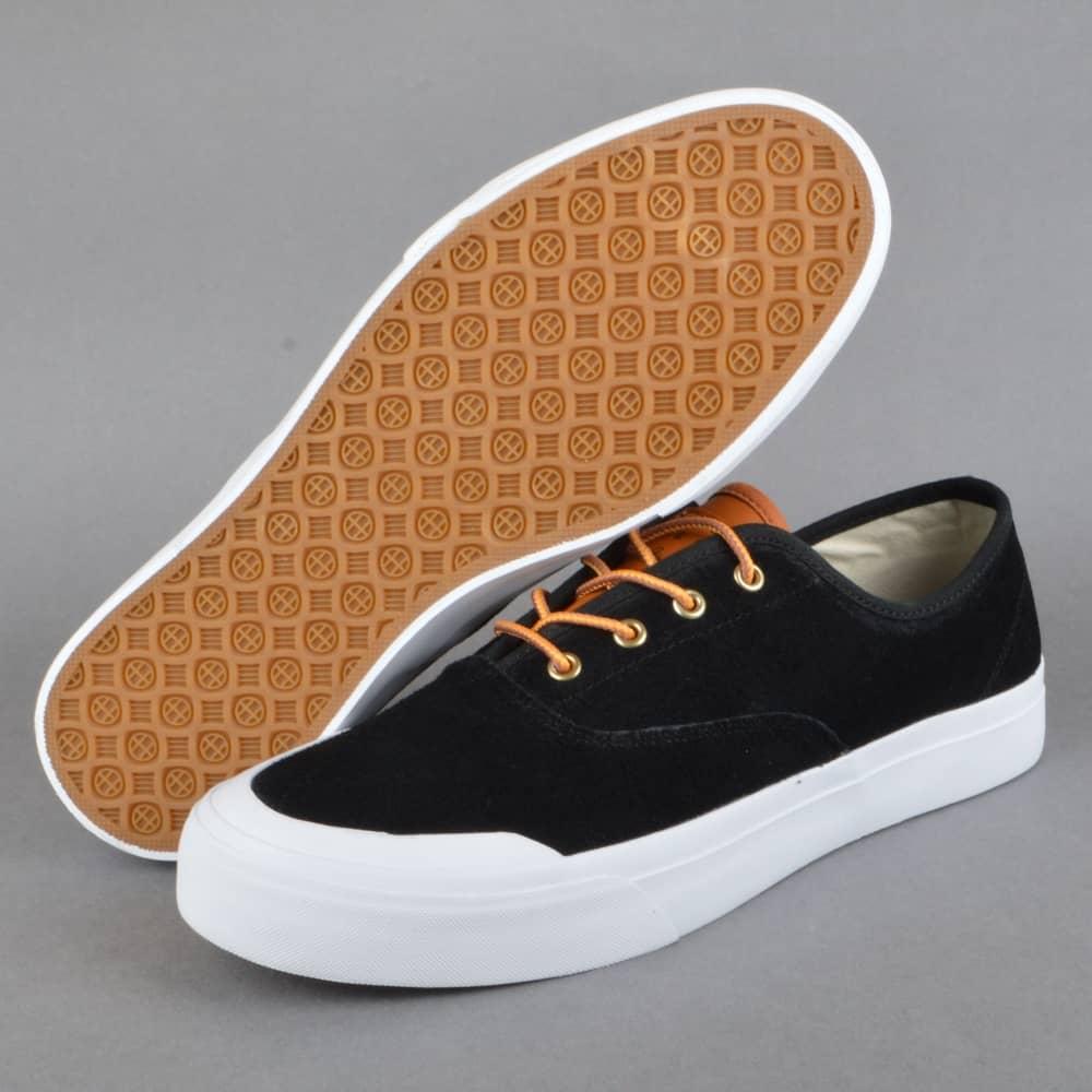 HUF Cromer Skate Shoes - Black/Baseball