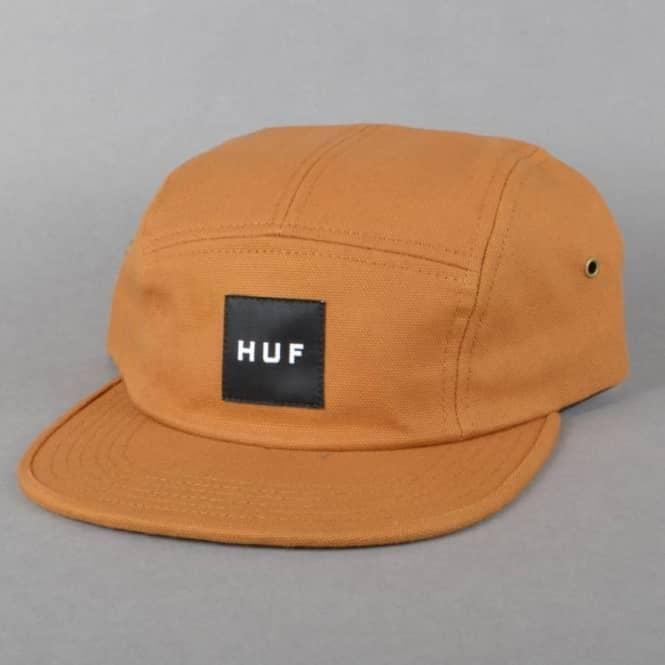 f0bc2fed62f HUF Duck Canvas Volley 5 Panel Cap - Caramel - SKATE CLOTHING from ...