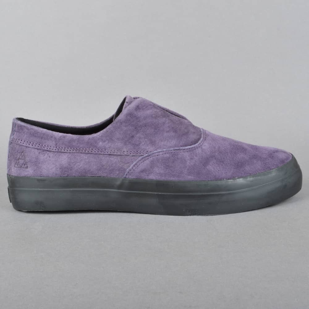 f5367cb163 HUF Dylan Slip On Skate Shoes - Nightshade - SKATE SHOES from Native ...