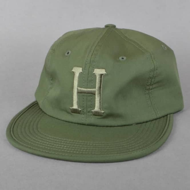 HUF Formless Classic H 6 Panel Cap - Olive - SKATE CLOTHING from ... 0d53b96ab315
