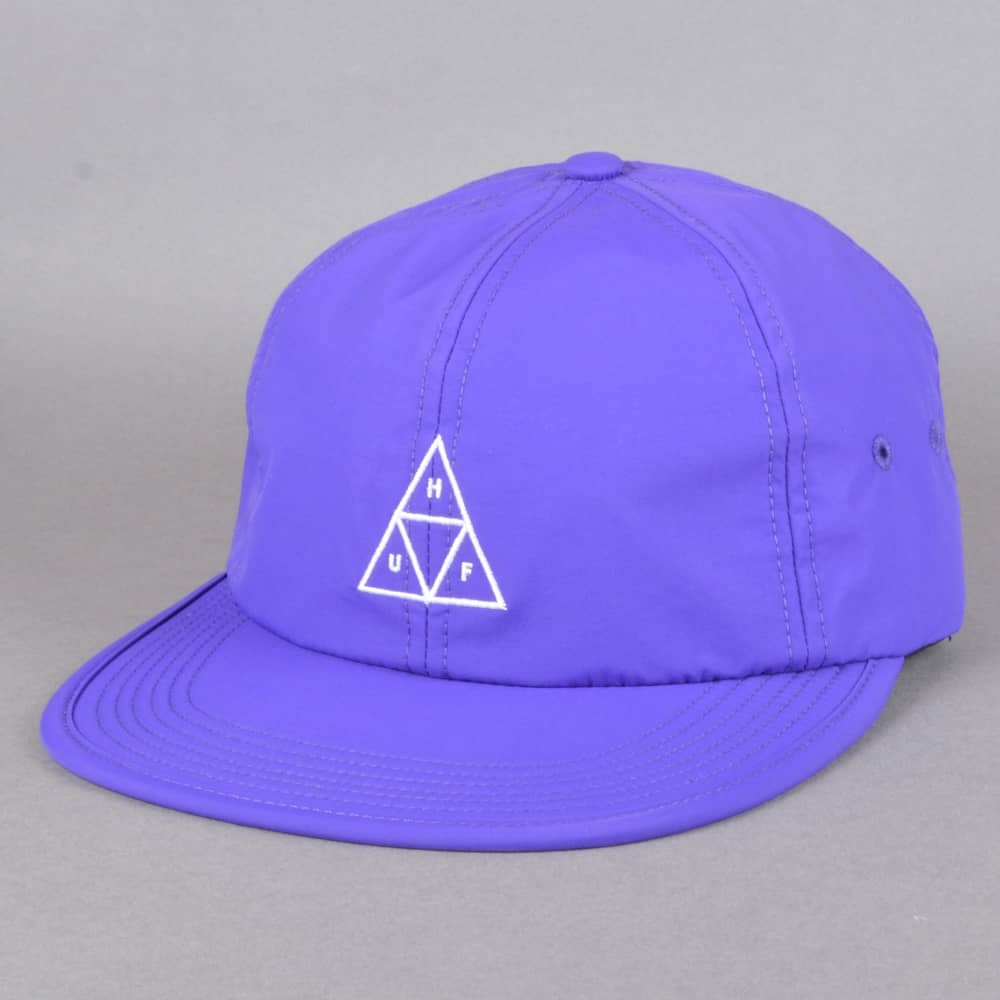 3dfe8988825bf HUF Formless Triple Triangle 6 Panel Cap - Purple - SKATE CLOTHING ...