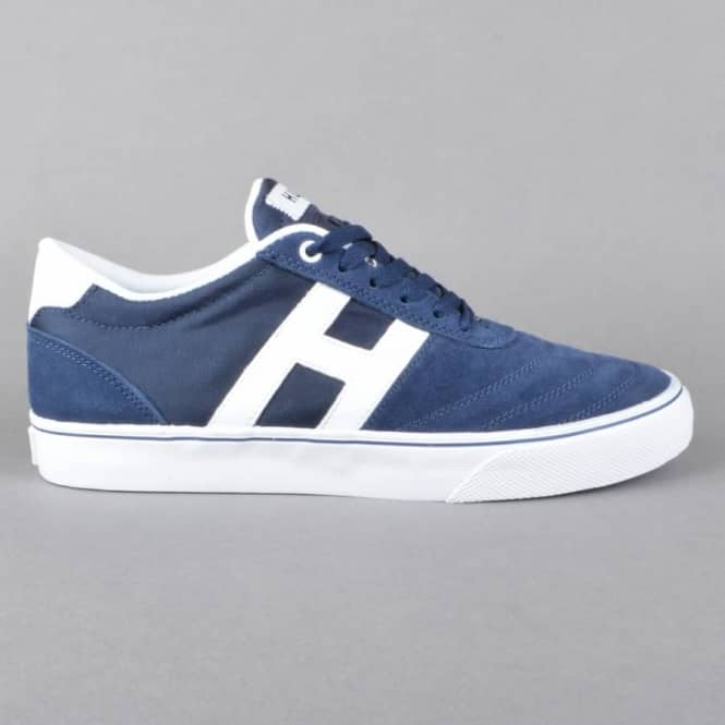 HUF Galaxy Skate Shoes - Navy/White
