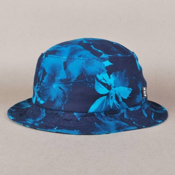 767bdb4a2da2b4 HUF Huf Floral Bucket Hat - Navy - Bucket Hats from Native Skate ...