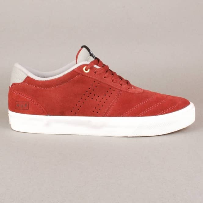 HUF Huf Galaxy Skate Shoes - Wine/Aluminium