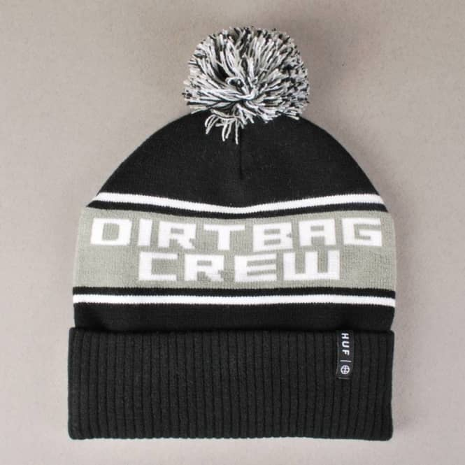 HUF Huf Go DBC Bobble Beanie - Black - Beanies from Native Skate ... b741ec358013