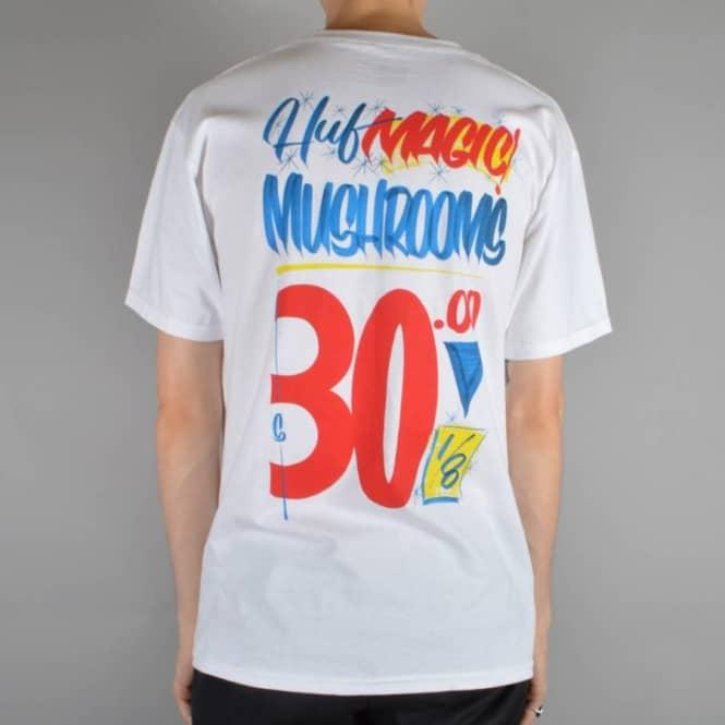 Huf Shrooms T-Shirt - White