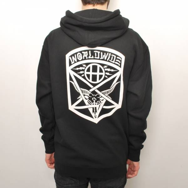Huf Huf x Thrasher Tour Pullover Hoodie - Black