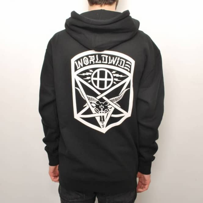 88a4752fbcbf HUF Huf x Thrasher Tour Pullover Hoodie - Black - Hooded Tops from ...