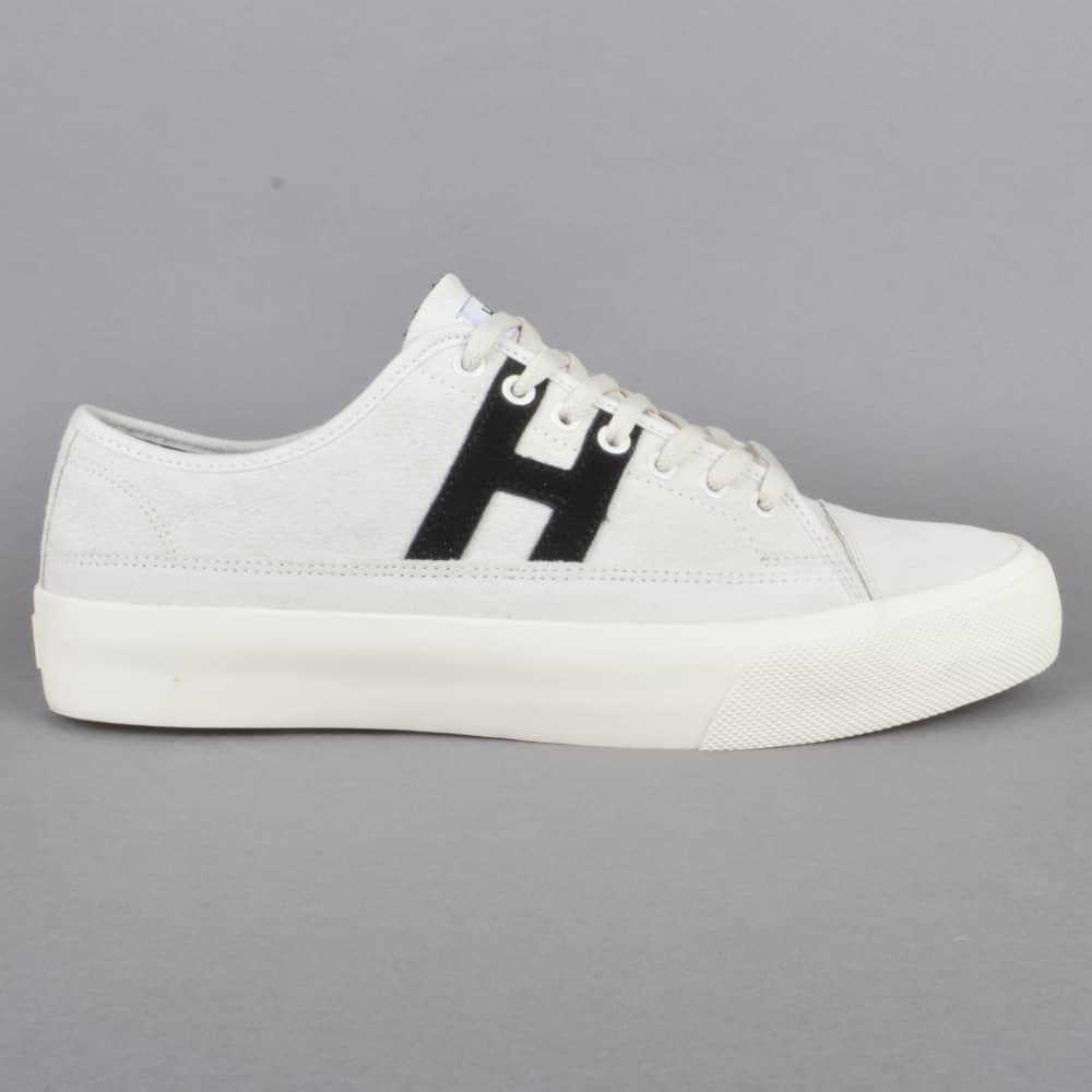 ab87f69ee20 HUF Hupper 2 Lo Skate Shoes - Cream Black - SKATE SHOES from Native ...
