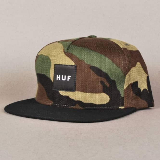 HUF Japanese Camo Snapback Cap - Woodland Camo - SKATE CLOTHING from ... 4e4ba86999f