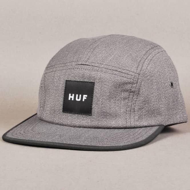 HUF Japanese Speckle Volley 5 Panel Cap - Grey - Caps from Native ... afa3876afee6