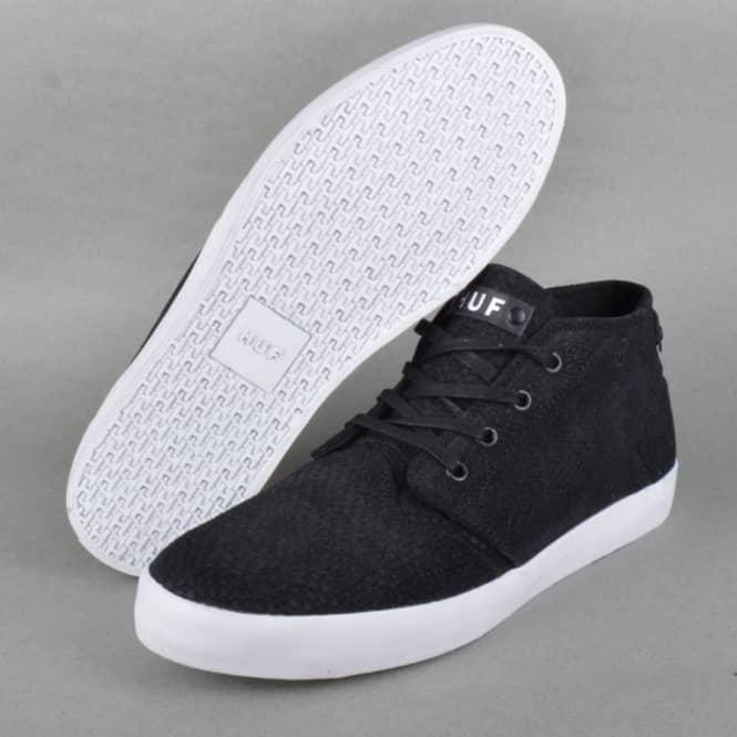 Mercer Skate Shoes - Black/Snake