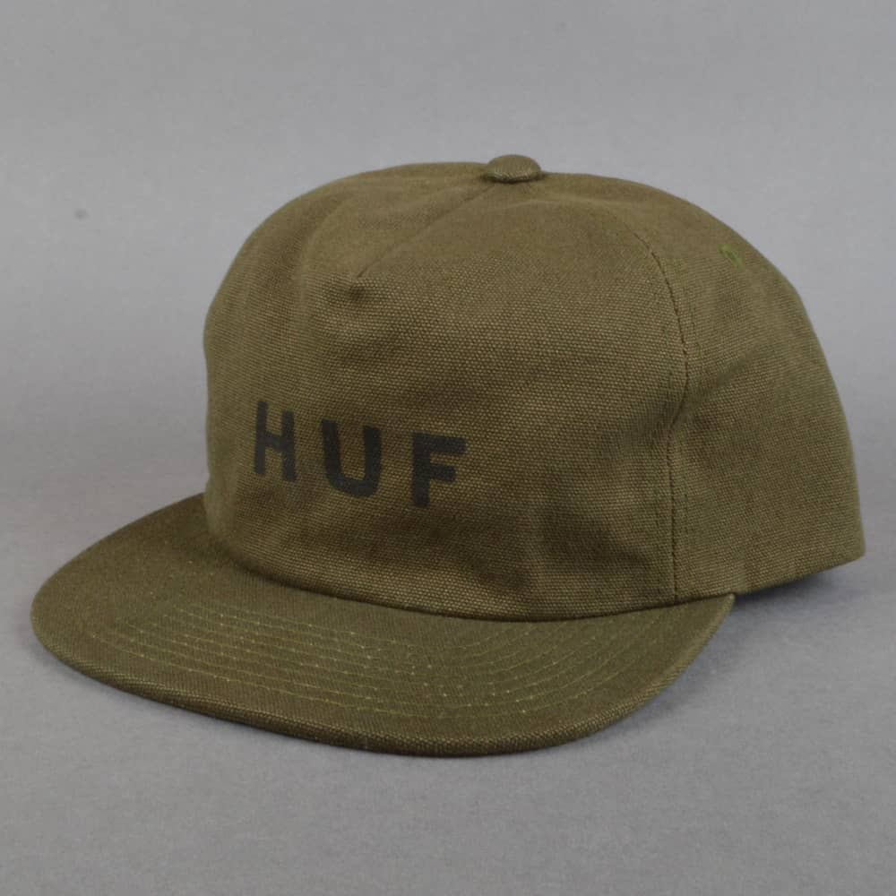HUF Militia Snapback Cap - Olive - SKATE CLOTHING from Native Skate ... 5f73d06818ed