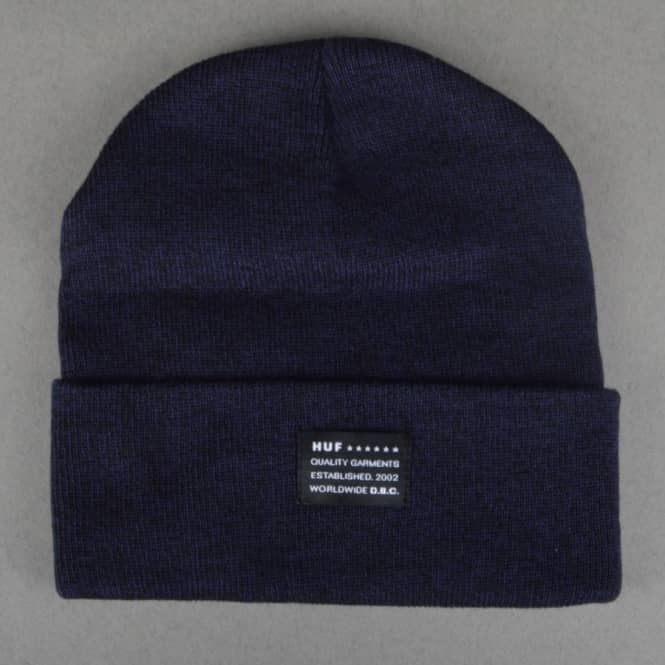 HUF Mixed Yarn Beanie - Navy