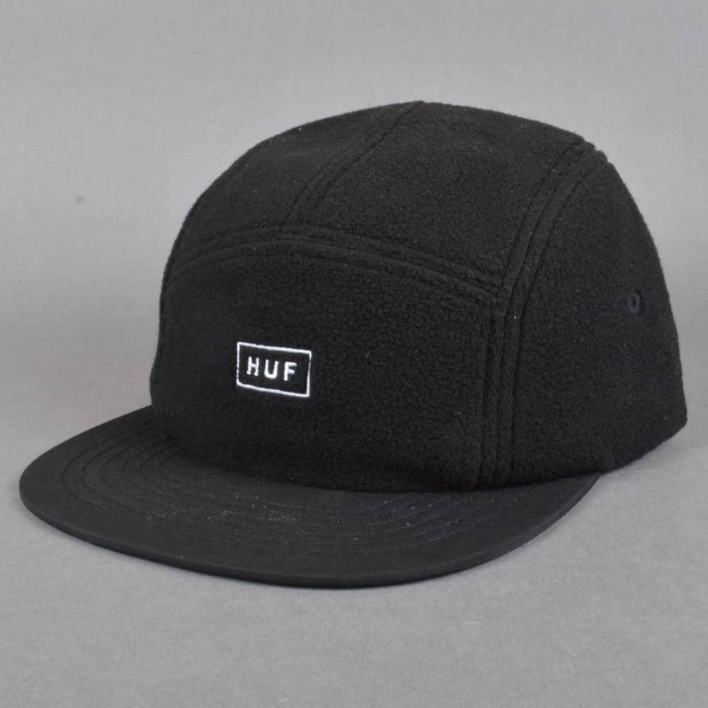 HUF Polar Fleece Volley Cap - Black - SKATE CLOTHING from Native ... 5760dbfa06d4