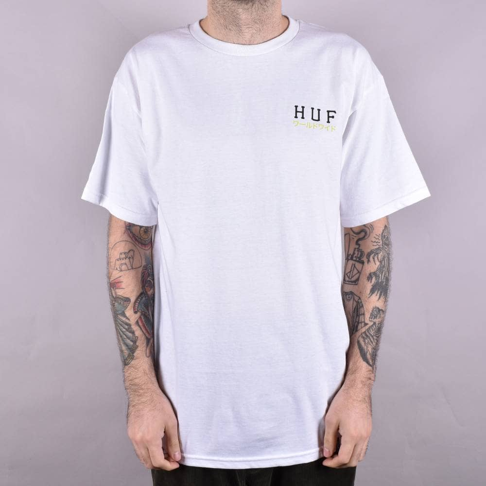 Native Clothing H T White From Skate Huf Shirt Proto Classic SqaxFwFz